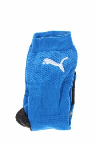 Ciorapi pentru sport PUMA, Mărime 7-8y/ 128-134 cm, Culoare Albastru, 80% poliester, 15% poliuretan, 5% elastan, Preț 47,37 Lei