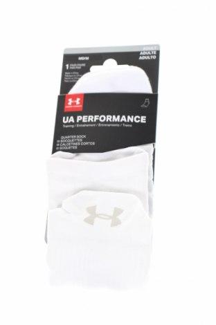Sportovní ponožky  Under Armour, Rozměr M, Barva Bílá, 60% polyester, 19% polyamide, 16% bavlna, 5% elastan, Cena  196,00Kč