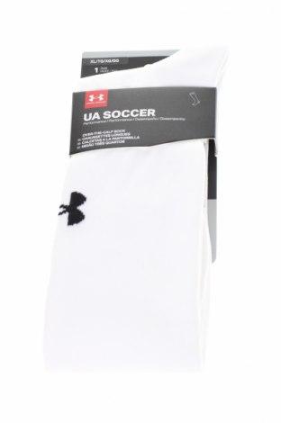 Sportowe skarpety Under Armour, Rozmiar XL, Kolor Biały, 69% poliamid, 28% poliester, 3% elastyna, Cena 49,95zł