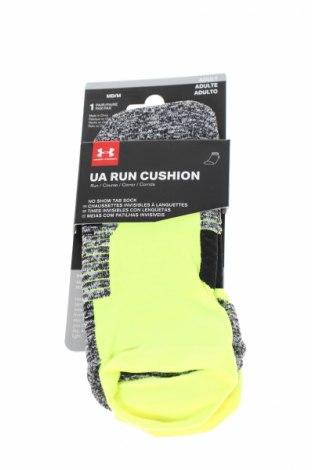 Sportovní ponožky  Under Armour, Rozměr M, Barva Zelená, 52% polyester, 44% polyamide, 4% elastan, Cena  196,00Kč