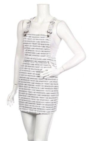 Dámske šaty s trákmi  H&M Divided, Veľkosť S, Farba Biela, Cena  17,23€