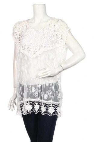 Tunika Cellbes, Rozmiar XL, Kolor Biały, 90% bawełna, 10% poliamid, Cena 84,00zł