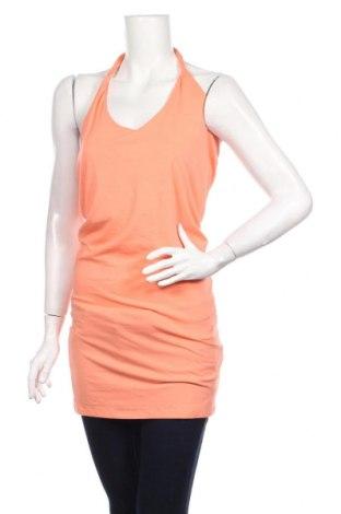 Туника Vila, Размер L, Цвят Оранжев, 48% памук, 48% модал, 4% еластан, Цена 6,83лв.
