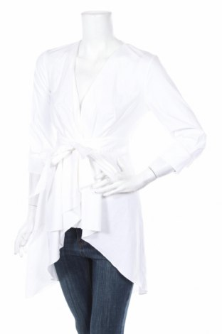 Tunika  Zara, Veľkosť XS, Farba Biela, 97% bavlna, 3% elastan, Cena  23,01€