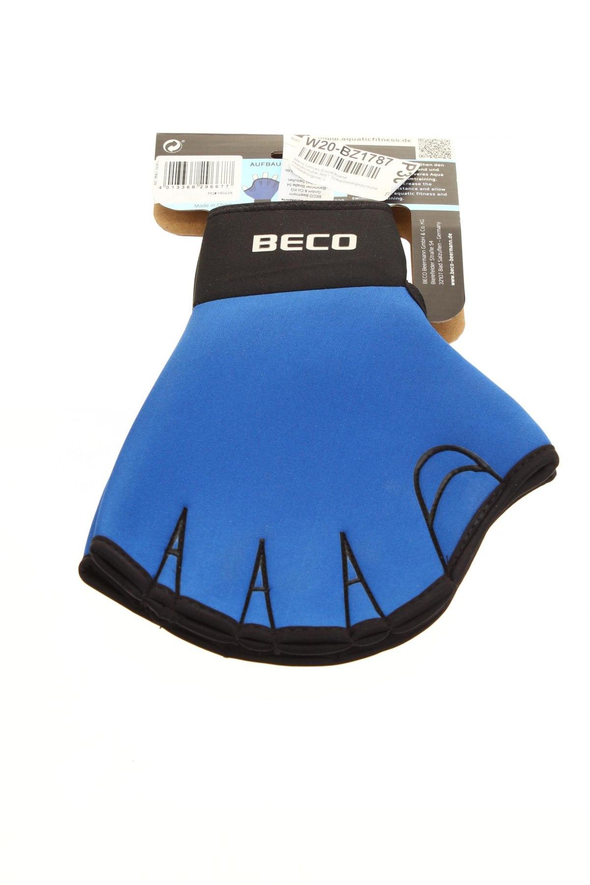 Ръкавици Beco, Цвят Син, Неопрен, Цена 15,95лв.