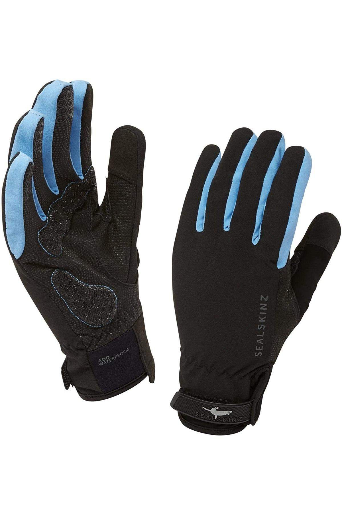 Ръкавици Sealskinz, Цвят Черен, 70% полиестер, 30% полиуретан, Цена 28,60лв.