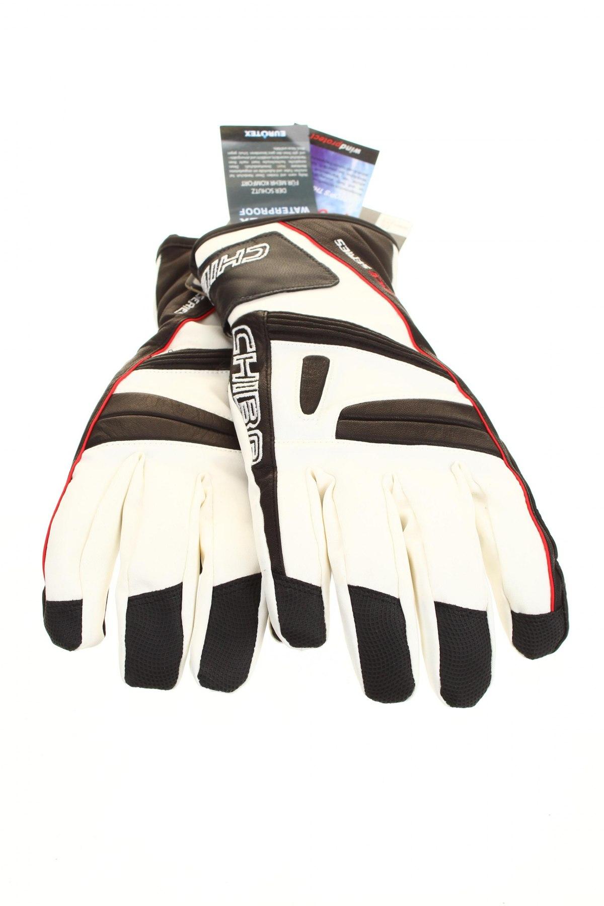 Ръкавици Chiba, Цвят Черен, 39% полиестер, 36% естествена кожа, 11% полиуретан, 4% полиестер, 5% полиамид, 5% други материали, Цена 32,40лв.