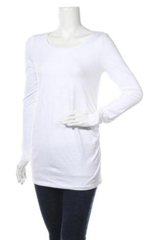 Блуза за бременни, Размер L, Цвят Бял, 95% памук, 5% еластан, Цена 13,94лв.