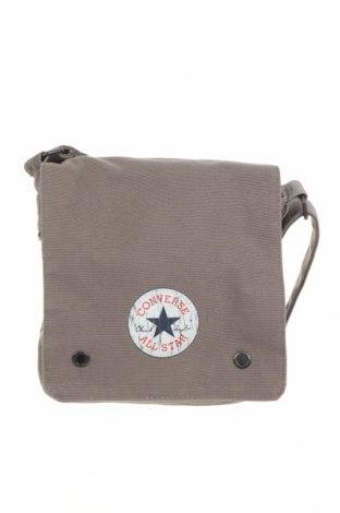 Τσάντα Converse, Χρώμα Γκρί, Κλωστοϋφαντουργικά προϊόντα, Τιμή 19,02€