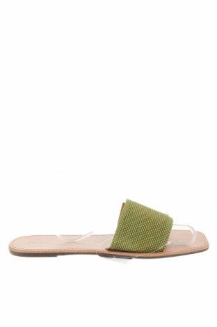 Чехли Anko, Размер 42, Цвят Зелен, Еко кожа, Цена 9,74лв.