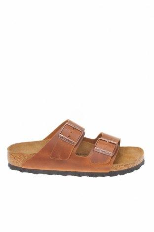 Papuci Birkenstock, Mărime 37, Culoare Maro, Piele naturală, Preț 294,08 Lei