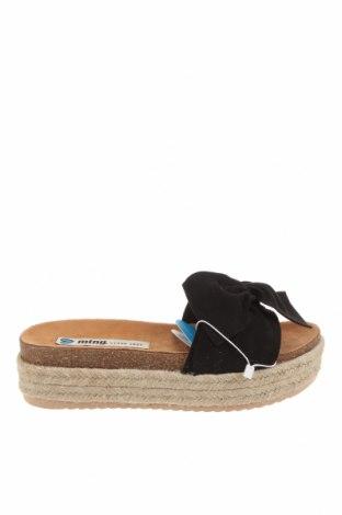 Pantofle MTNG, Velikost 40, Barva Černá, Textile , Cena  470,00Kč