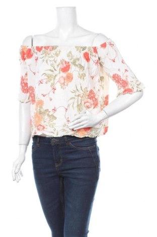 Дамска блуза Piping Hot, Размер M, Цвят Екрю, Вискоза, Цена 5,92лв.