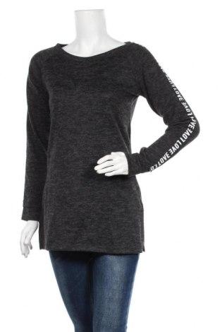 Γυναικεία μπλούζα, Μέγεθος S, Χρώμα Μαύρο, 95%ακρυλικό, 5% ελαστάνη, Τιμή 11,69€