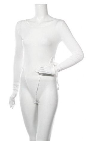Дамска блуза - боди 4th & Reckless, Размер M, Цвят Бял, 95% полиестер, 5% еластан, Цена 22,00лв.