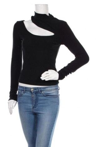 Дамска блуза 4th & Reckless, Размер M, Цвят Черен, 59% полиестер, 33% вискоза, 8% еластан, Цена 24,50лв.
