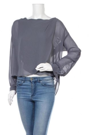 Дамска блуза ASOS, Размер M, Цвят Сив, 100% полиестер, Цена 8,96лв.
