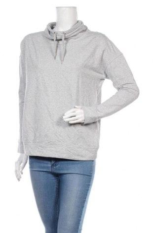 Дамска блуза Active By Tchibo, Размер S, Цвят Сив, 68% памук, 16% полиестер, 10% метални нишки, 6% еластан, Цена 16,96лв.