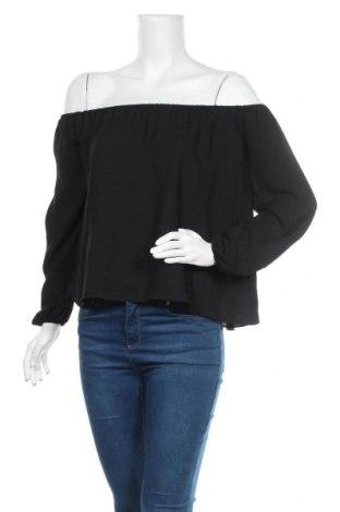 Дамска блуза Cool Cat, Размер XS, Цвят Черен, Полиестер, Цена 13,39лв.