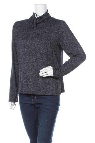 Γυναικεία μπλούζα Elle Nor, Μέγεθος M, Χρώμα Μπλέ, 77% βισκόζη, 20% πολυεστέρας, 3% ελαστάνη, Τιμή 12,34€