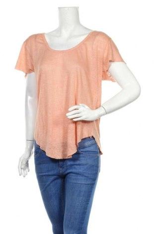 Дамска блуза Farina Opoku, Размер M, Цвят Розов, Лен, Цена 21,07лв.