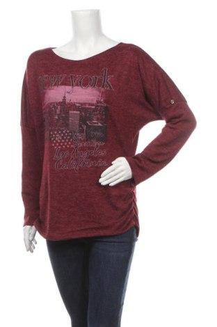 Дамска блуза Floyd By Smith, Размер M, Цвят Червен, 95% вискоза, 5% еластан, Цена 10,40лв.