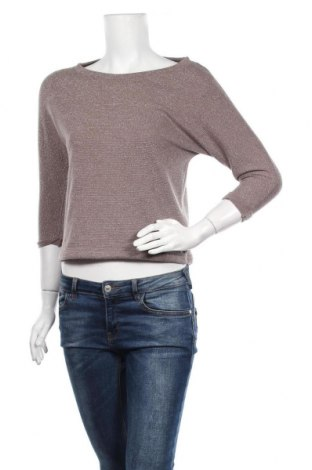 Γυναικεία μπλούζα Forever 21, Μέγεθος S, Χρώμα  Μπέζ, 92% πολυεστέρας, 5% μεταλλικά νήματα, 3% ελαστάνη, Τιμή 11,69€
