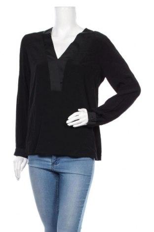 Дамска блуза Free Quent, Размер M, Цвят Черен, Вискоза, Цена 17,96лв.