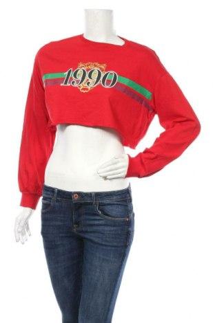Γυναικεία μπλούζα H&M Divided, Μέγεθος S, Χρώμα Κόκκινο, Βαμβάκι, Τιμή 9,94€
