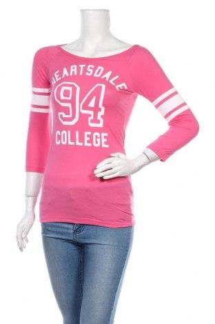 Γυναικεία μπλούζα H&M Divided, Μέγεθος S, Χρώμα Ρόζ , 50% βαμβάκι, 50% πολυεστέρας, Τιμή 8,83€