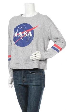 Γυναικεία μπλούζα H&M Divided, Μέγεθος L, Χρώμα Γκρί, 90% βαμβάκι, 10% βισκόζη, Τιμή 11,59€
