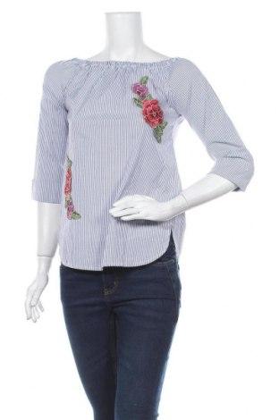 Дамска блуза Haily`s, Размер XS, Цвят Син, 97% памук, 3% еластан, Цена 16,07лв.