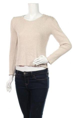Дамска блуза Haily`s, Размер M, Цвят Бежов, 81% вискоза, 17% полиестер, 2% еластан, Цена 16,96лв.