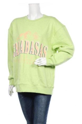 Bluză de femei Missguided, Mărime M, Culoare Verde, 65% poliester, 35% bumbac, Preț 59,28 Lei