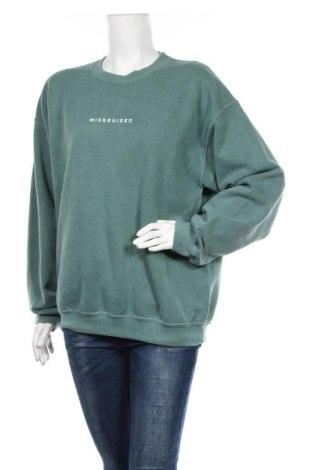 Bluză de femei Missguided, Mărime M, Culoare Verde, Preț 55,02 Lei