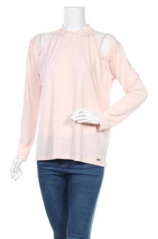 Дамска блуза Mohito, Размер L, Цвят Розов, Полиестер, Цена 10,40лв.