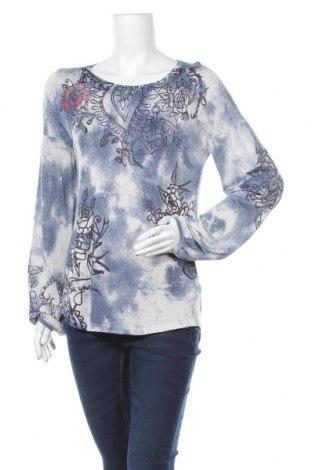 Дамска блуза Monari, Размер M, Цвят Многоцветен, 82% вискоза, 11% полиамид, 7% метални нишки, Цена 17,96лв.