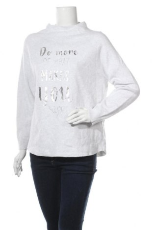 Дамска блуза Monari, Размер L, Цвят Бял, 85% памук, 15% вълна, Цена 24,57лв.