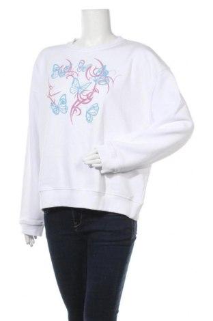 Дамска блуза NEW girl ORDER, Размер S, Цвят Бял, 69% памук, 31% полиестер, Цена 20,34лв.