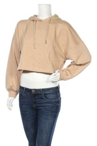 Γυναικεία μπλούζα ONLY, Μέγεθος M, Χρώμα  Μπέζ, 60% βαμβάκι, 40% πολυεστέρας, Τιμή 11,37€
