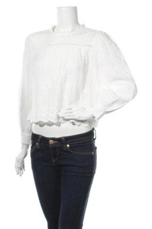 Дамска блуза Object, Размер M, Цвят Бял, Памук, Цена 27,84лв.
