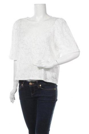 Дамска блуза Object, Размер XL, Цвят Бял, 92% полиестер, 8% еластан, Цена 18,06лв.