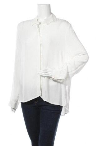 Дамска блуза Object, Размер M, Цвят Бял, Вискоза, Цена 25,92лв.