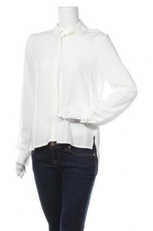 Дамска блуза Object, Размер XS, Цвят Бял, Вискоза, Цена 25,92лв.