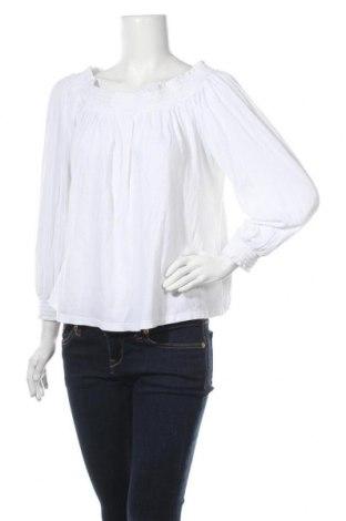 Дамска блуза Pimkie, Размер M, Цвят Бял, 54% вискоза, 45% памук, 1% еластан, Цена 3,00лв.