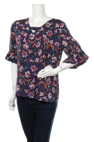 Дамска блуза Rockmans, Размер L, Цвят Многоцветен, 95% полиестер, 5% еластан, Цена 6,30лв.