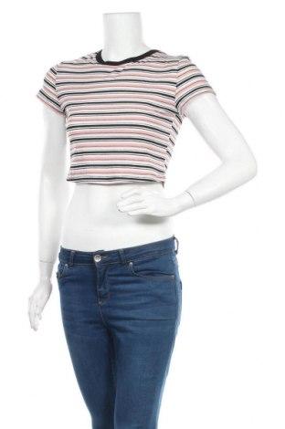 Дамска блуза SHEIN, Размер M, Цвят Многоцветен, 65% памук, 30% полиестер, 5% еластан, Цена 8,82лв.