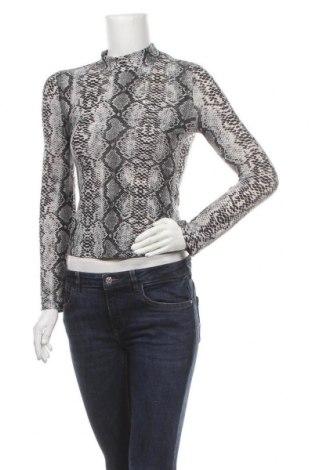 Дамска блуза SHEIN, Размер XS, Цвят Черен, 95% полиестер, 5% еластан, Цена 16,07лв.