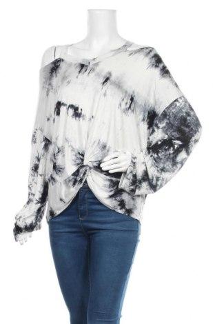 Дамска блуза SHEIN, Размер 3XL, Цвят Бял, 65% полиестер, 30% памук, 5% еластан, Цена 13,23лв.