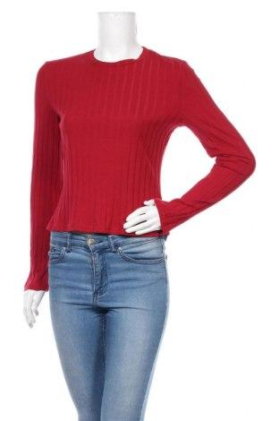 Дамска блуза SHEIN, Размер L, Цвят Червен, Памук, Цена 12,50лв.